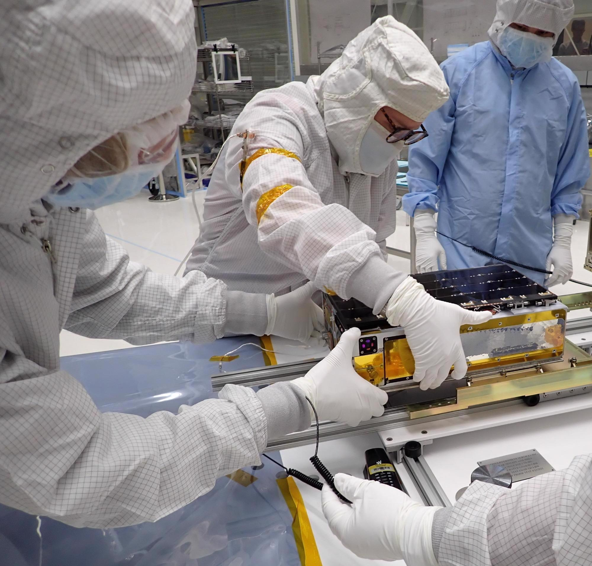 CUTE, CubeSat, CUTE satellite, satellite, mission, extrasolar planets