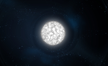 Massive White Dwarf Created by Star Merger