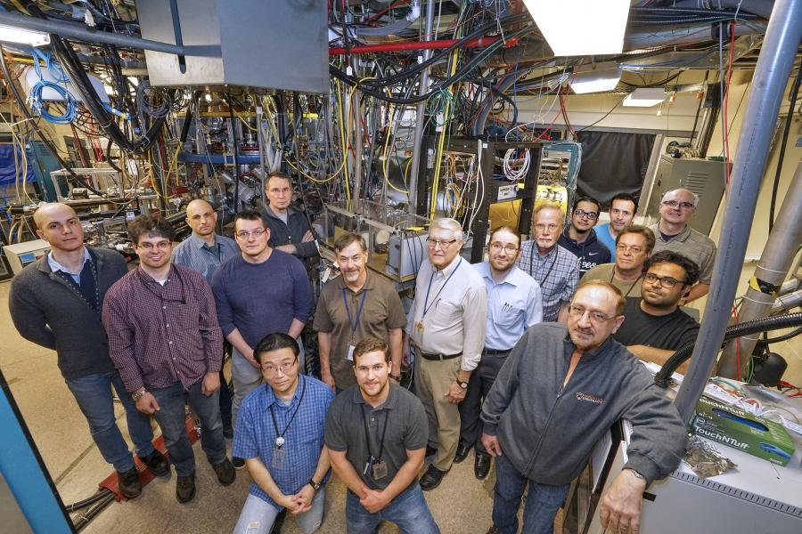 The team that upgraded the LTX-ß