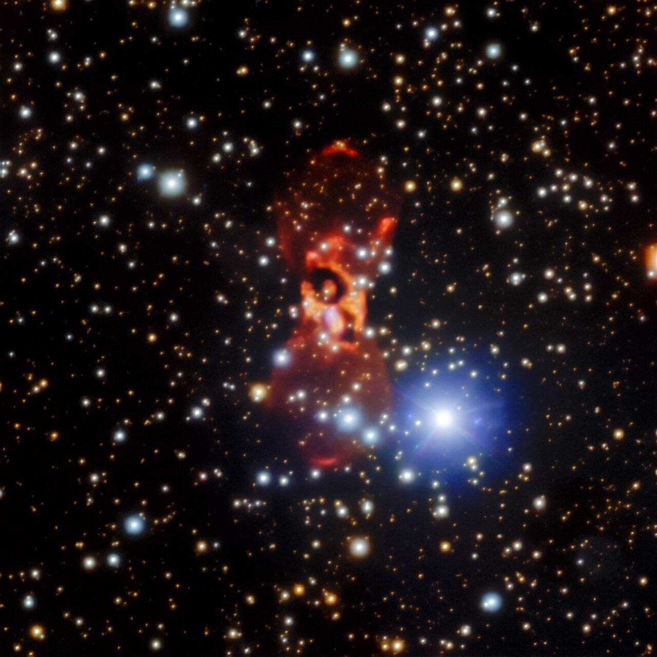 Study Finds CK Vulpeculae Nebula is Farther than Previously Thought