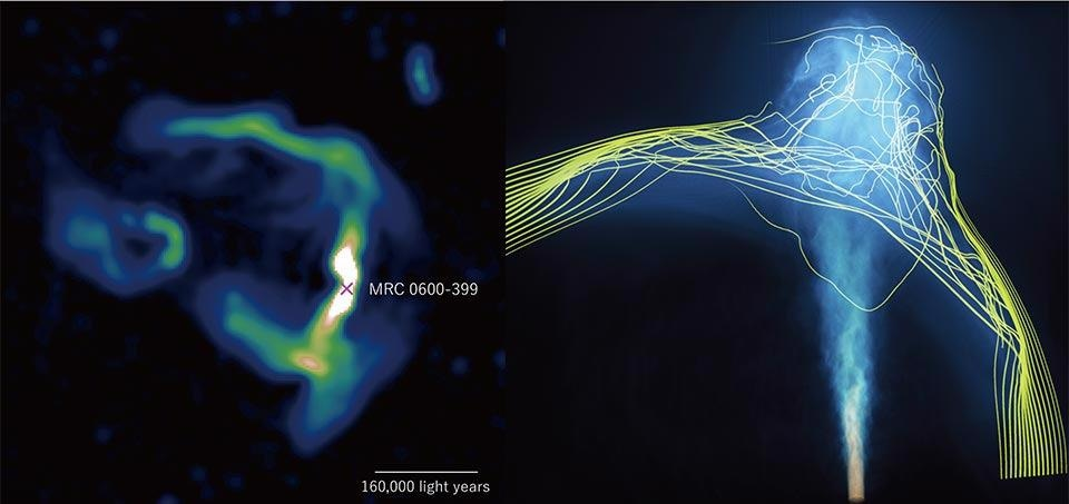 Intergalactic Study Provides a New Way to Understand Magnetized Universe