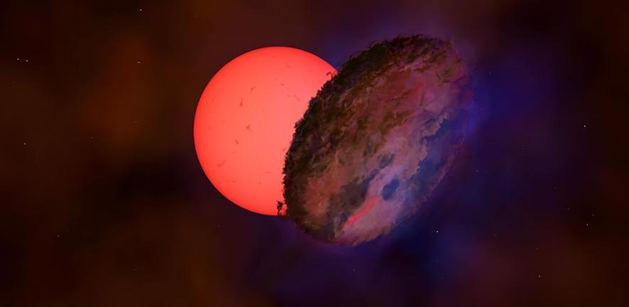 """Researchers Detect New Class of """"Blinking Giant"""" Stars in the Milky Way."""