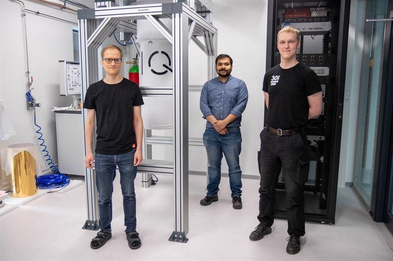 Building of Finland's First Quantum Computer Underway and on Schedule at VTT
