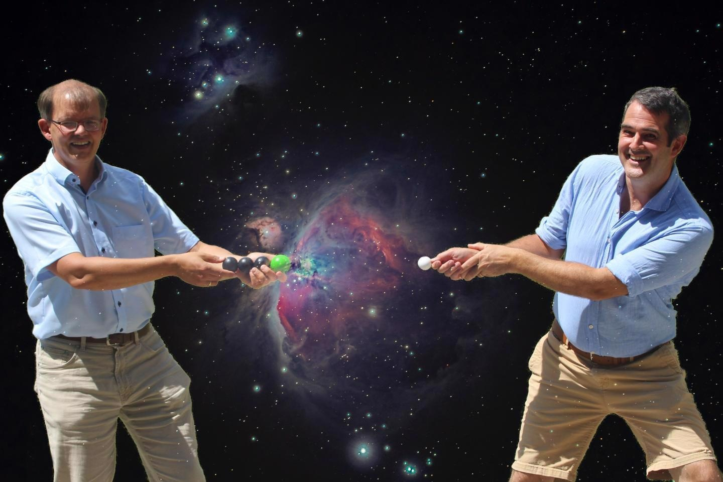 Study Illustrates Formation of Negatively Charged Molecules in Space.