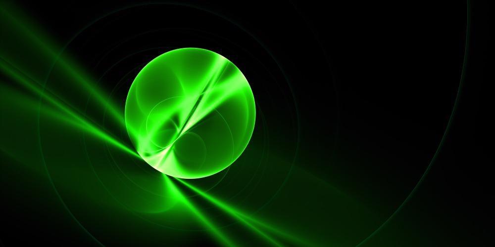 Graphic of quark-gluon plasma