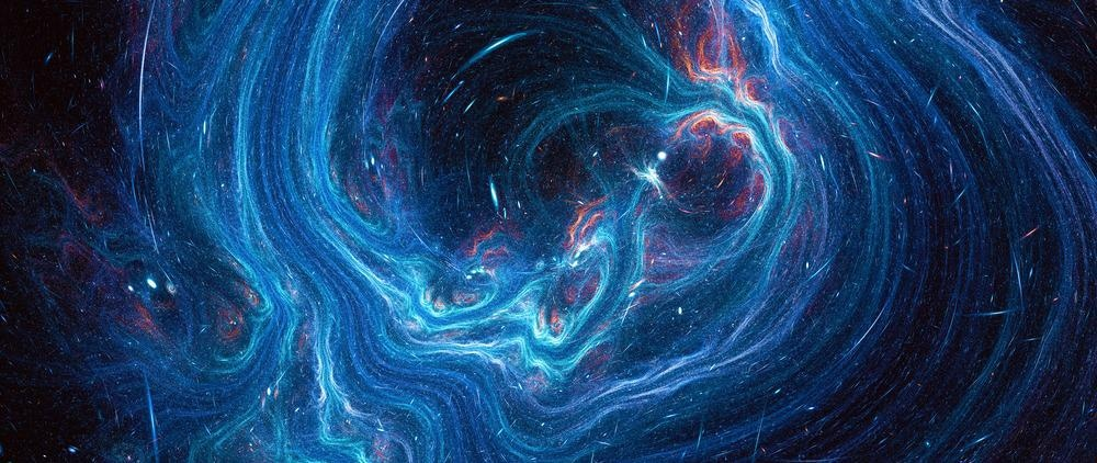 Abstract universe image