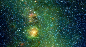 Stellar Nursery Brewing in the Trifid Nebula