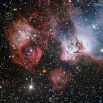 ESO's Very Large Telescope Explores Dragon's Head Nebula