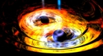 Two Supermassive Black Holes Dance in a Gravitationally Entwined Tango