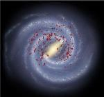 Study of Massive Stars Reaffirms Four Spiral Arms of Milky Way Galaxy