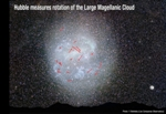 Rotation Rate of Galaxy Precisely Measured Based on Clock-Like Movement of its Stars