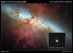 Hubble Photographs SN 2014J Supernova Explosion in the M82 Galaxy