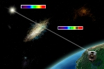 Quasar Helps Study Early Galaxy in Unprecedented Detail