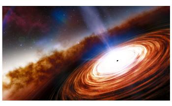 Astronomers Discover Most Distant Quasar J0313-1806