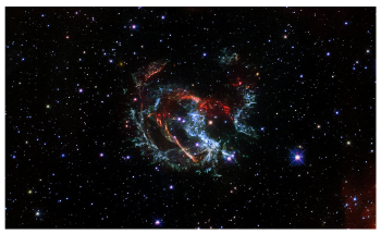 Hubble Space Telescope Helps Detect Supernova Remnant