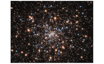 Hubble Telescope Reveals Smaller Black Holes in Core-Collapsed Globular Cluster
