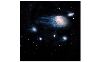 Small Satellite Galaxies Contain Less Molecular Gas at Their Centers