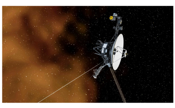 Voyager I Spacecraft Detects Constant Drone of Plasma Waves