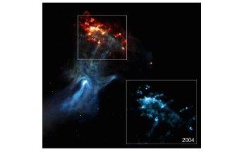 Astronomers Capture Motions of Remarkable Cosmic Structure