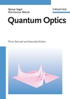 Quantum Optics, 3rd, Revised and Extended Edition